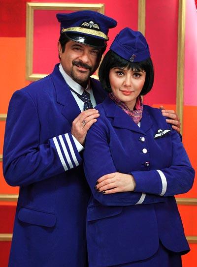 Anil Kapoor and Preity Zinta