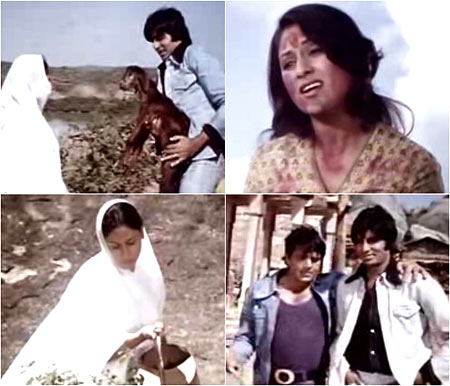 Some scenes from Sholay