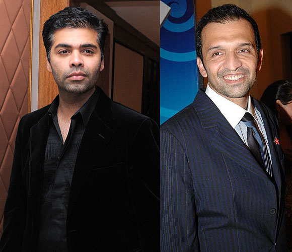 Karan Johar and Atul Kasbekar