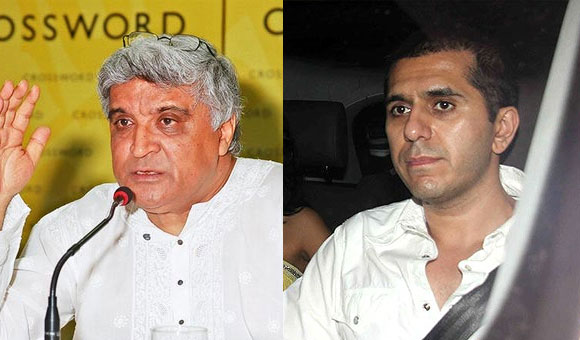 Javed Akhtar and Ritesh Sidhwani