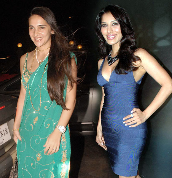 Sophie Choudry and Tara Sharma