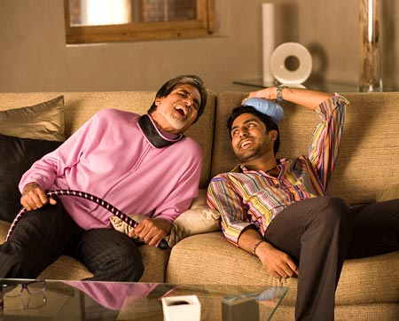 A scene from Kabhi Alvida Na Kehna