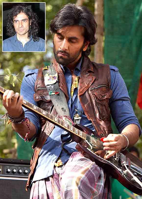 A scene from Rockstar. Inset: Imtiaz Ali