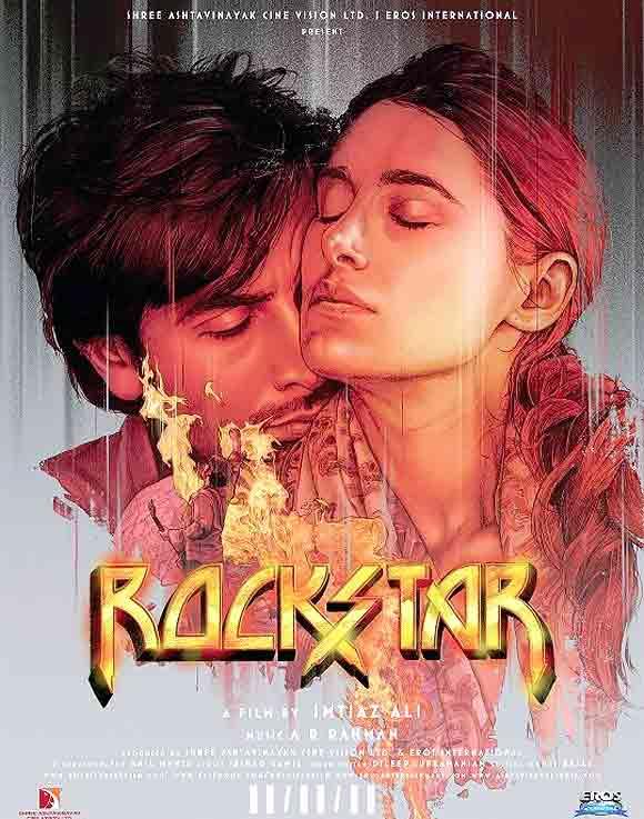 A Rockstar movie poster