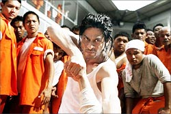 A scene from Don 2