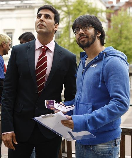 Akshay Kumar and Rohit Dhawan