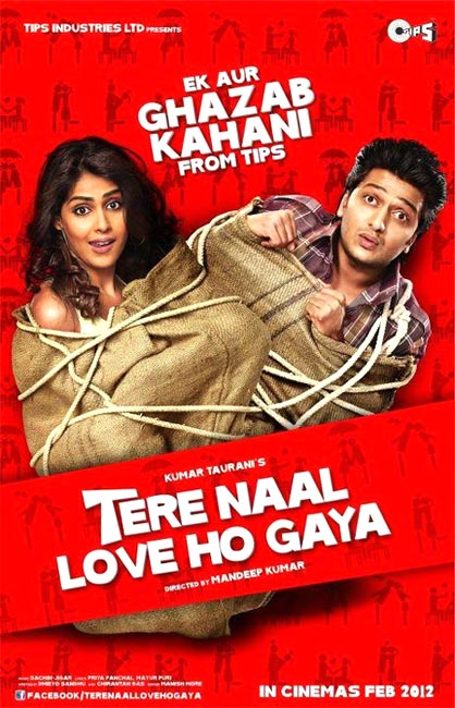 Movie poster of Tere Naal Love Ho Gaya