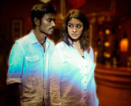 Dhanush and Richa in Mayakkam Enna
