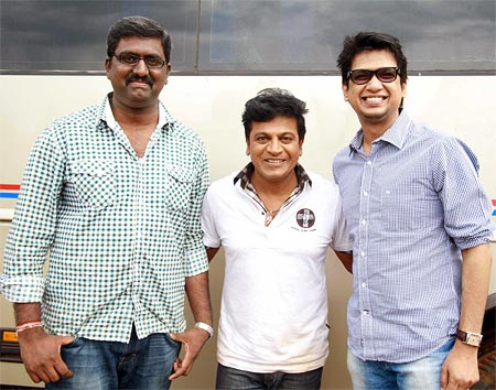Phaneesh, Shivarajkumar and Vijay Prakash