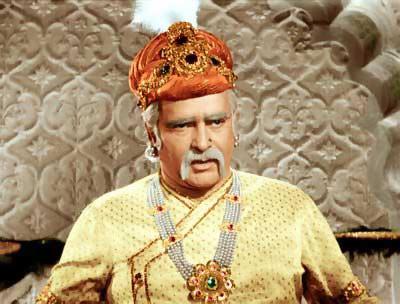 Prithiviraj Kapoor in Mughal-E-Azam
