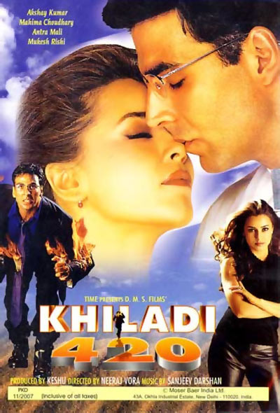 A scene from Khiladi 420