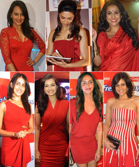 VOTE! Who looked best in red last week?