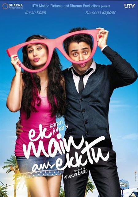 Movie poster of Ek Main Aur Ek Tu