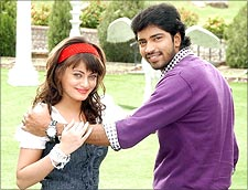 A still from Madatha Khaja