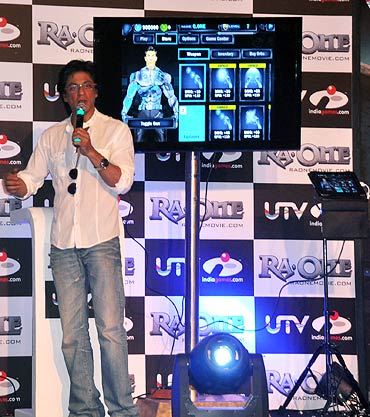 Shah Rukh Khan at the launch of UTV Indiagames