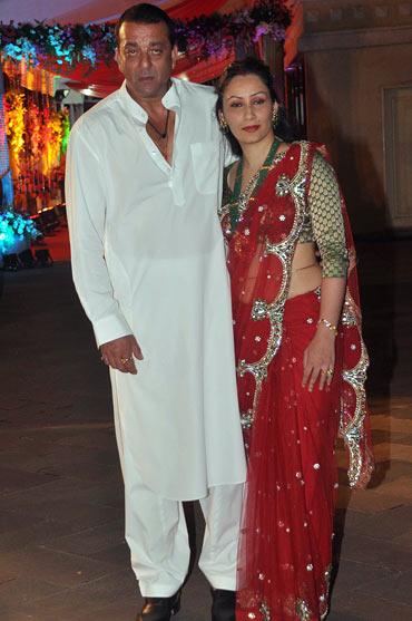Sanjay Dutt and Manyata Dutt