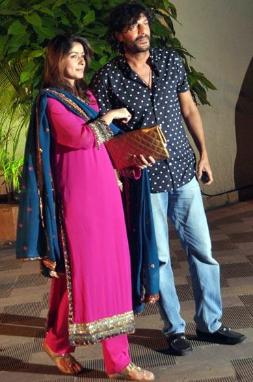 Chunkey and Bhawna Pandey