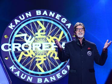 On the sets of Kaun Banega Crorepati