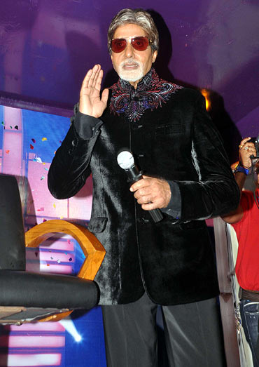 Amitabh Bachchan at the launch of Kaun Banega Crorepati 5