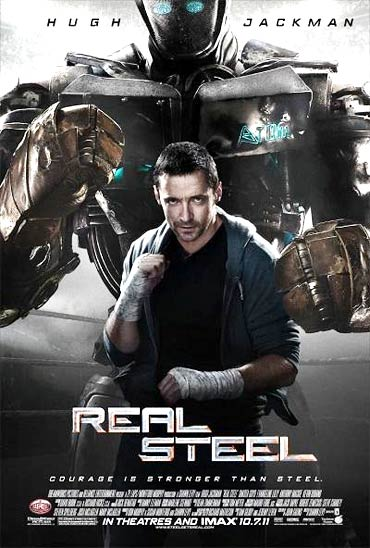 A Real Steel poster