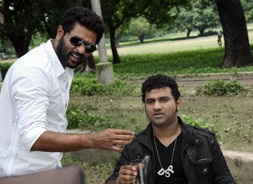 Prabhu Deva and Devisriprasad