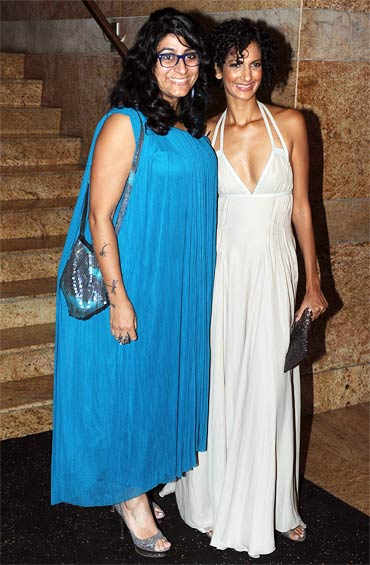 Niharika Khan and Poorna Jagannathan