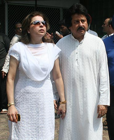 Farida and Pankaj Udhas