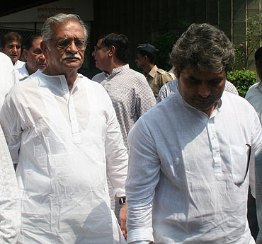 Gulzar and Vishal Bharadwaj