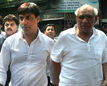 Madhur Bhandarkar and Yash Chopra