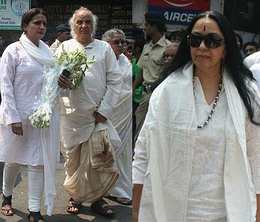 Durga Jasraj, Pandit Jasraj and Ila Arun