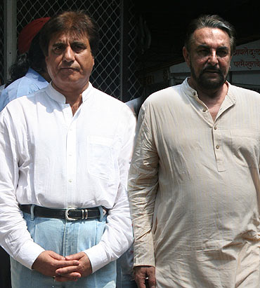 Raj Babbar and Kabir Bedi