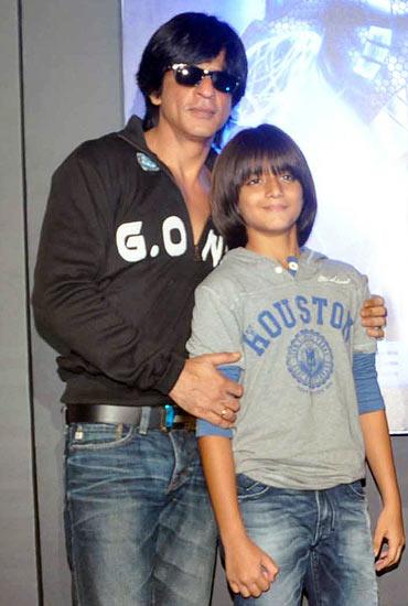 Shah Rukh Khan and Armaan Verma