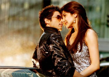 Anushka Sharma and Shahid Kapoor