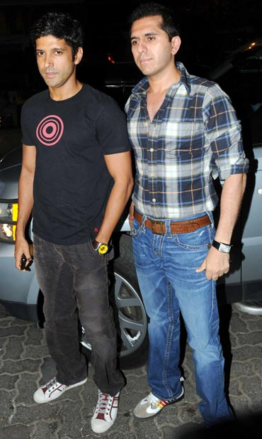 Farhan Akhtar and Ritesh Sidhwani