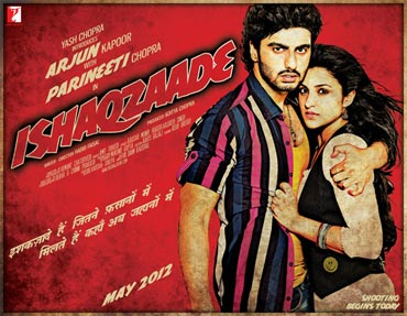 Ishaqzaade movie poster