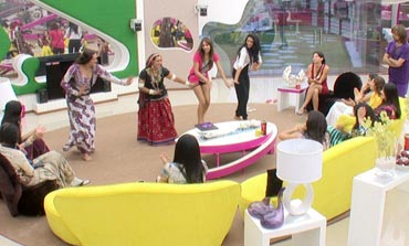 A scene from the Bigg Boss house