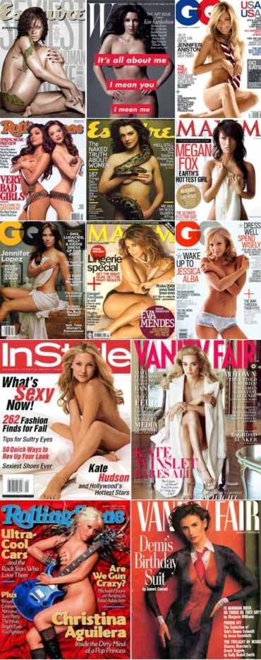 Vote! The sexiest nude magazine covers