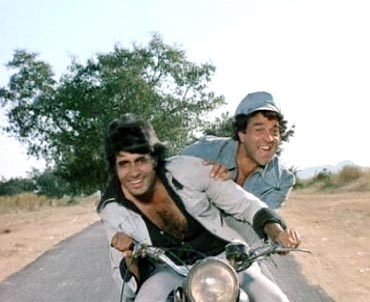 A still from Sholay