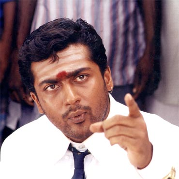 A still from Pithamagan