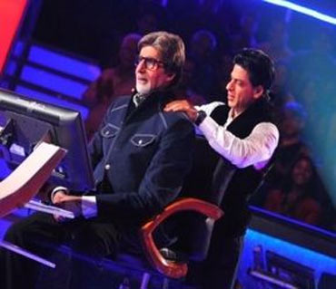 Shah Rukh Khan and Amitabh Bachchan
