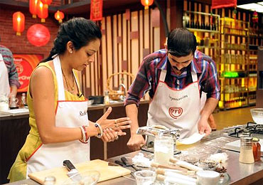 Contestants cooked up a storm in the first season