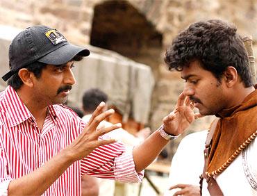 Raja directing Vijay