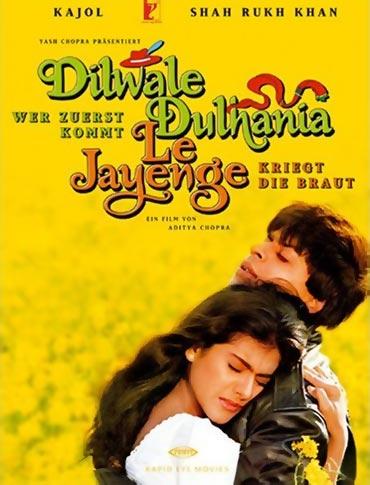 A Dilwale Dulhaniya Le Jayenge movie poster