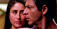 Kareena Kapoor and Shah Rukh Khan in Ra.One