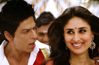Shah Rukh Khan and Kareena Kapoor in Ra.One