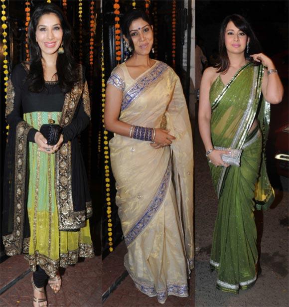 Sophie Chaudhry, Sakshi Tanwar and Preeti Jhangiani