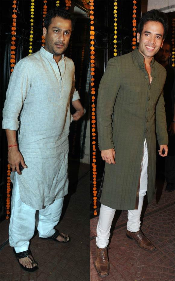 Abhishek Kapoor and Tusshar Kapoor