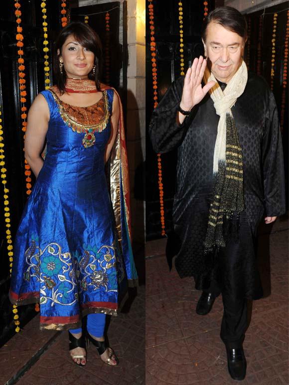 Urvashi Dholakia and Randhir Kapoor