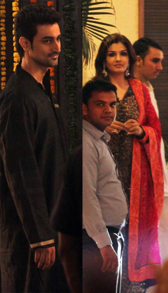 Kunal Kapoor and Raveena Tandon