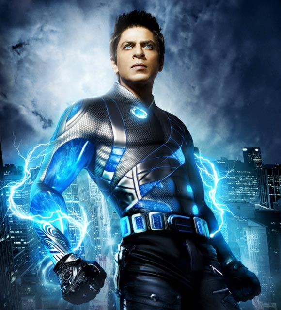 A scene from Ra.One